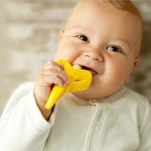 anneau de dentition rigolo pour bébé